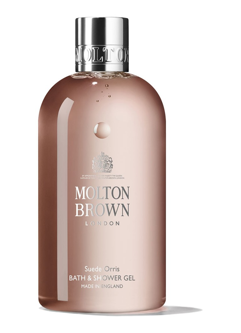 Molton Brown - Suede Orris Bath & Shower Gel - bad- & douchegel - null