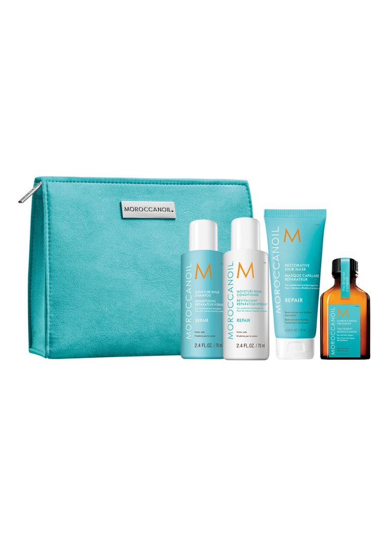Moroccanoil - Beauty Essentials Repair Set - Limited Edition haarverzorgingsset - null