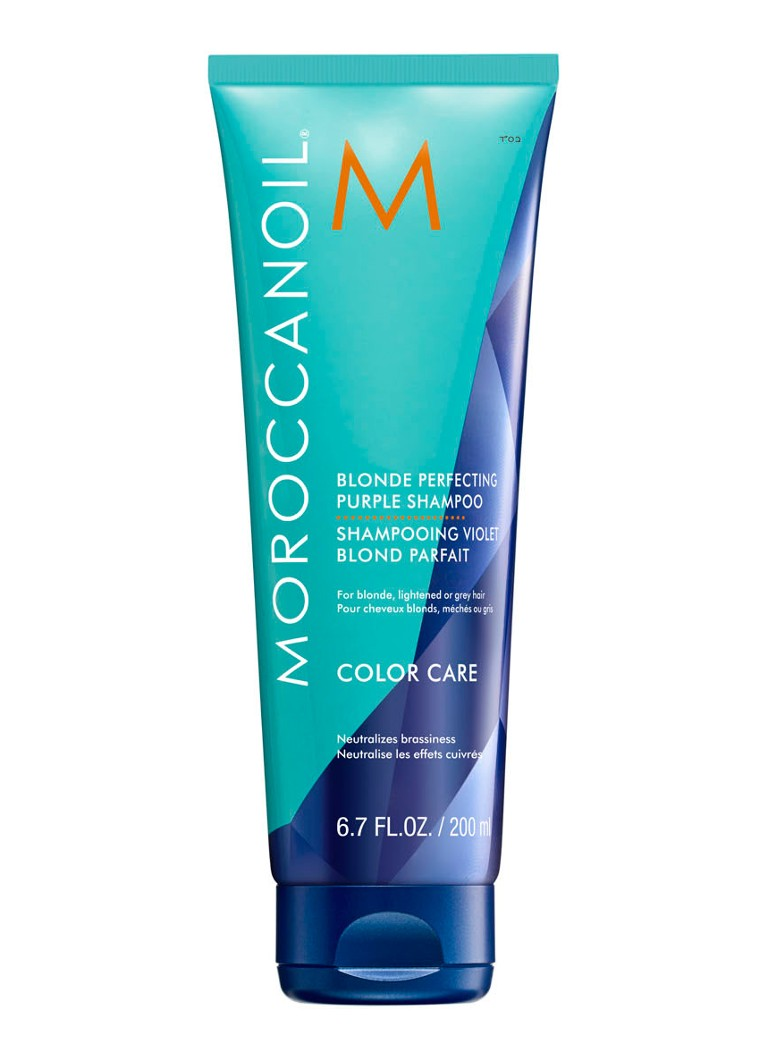Moroccanoil - Blonde Perfecting Purple Shampoo - null