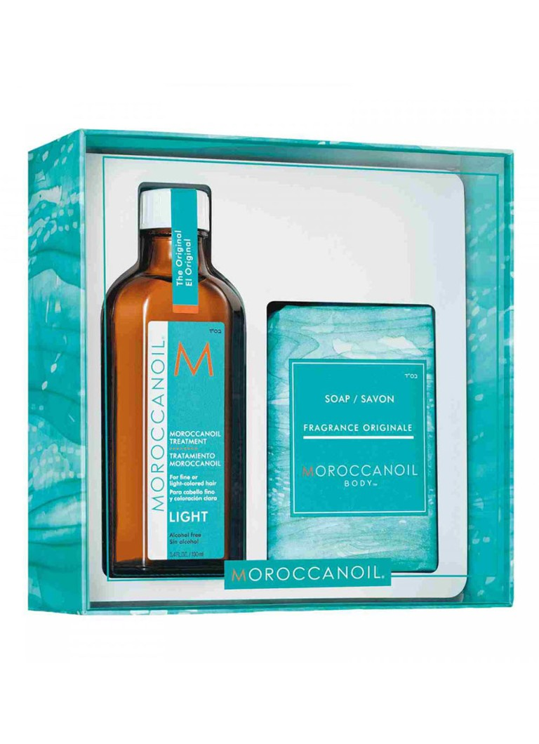 Moroccanoil - Cleanse & Style Duo Light - Limited Edition verzorgingsset -