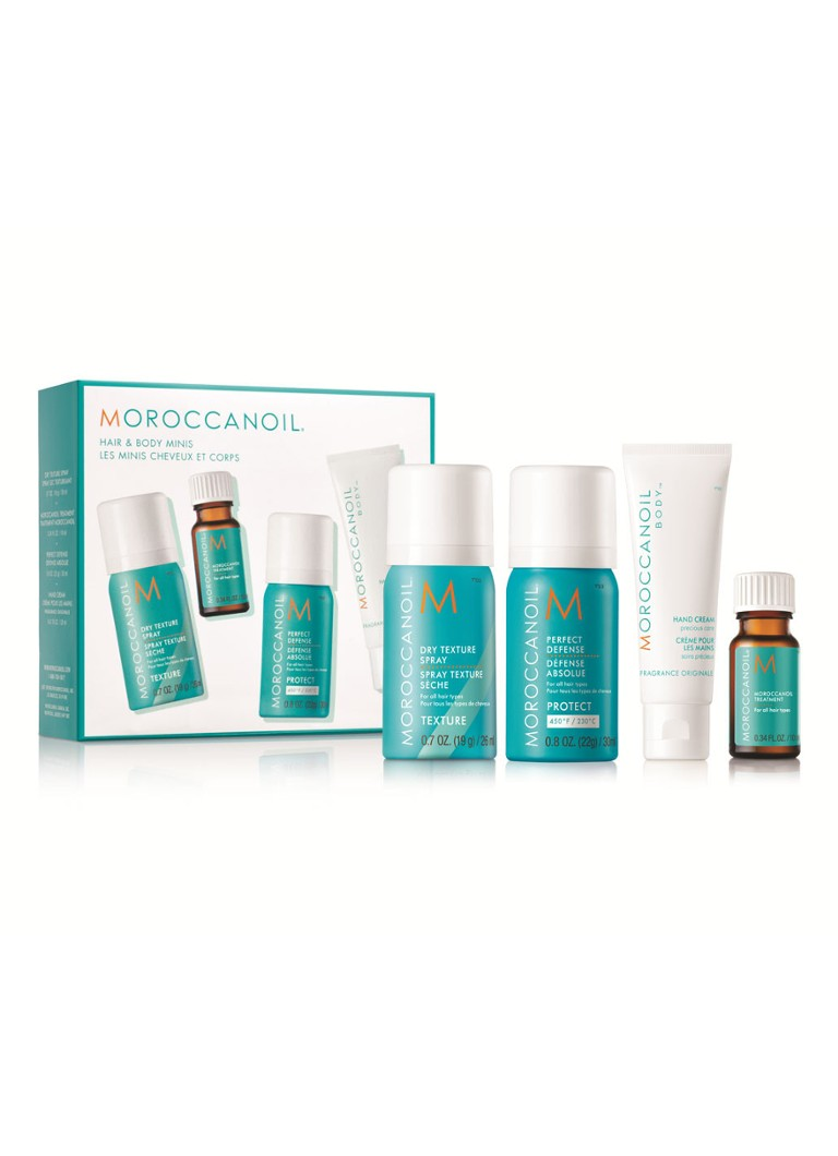 Moroccanoil - Hair & Body Mini's - haarverzorgingsset -