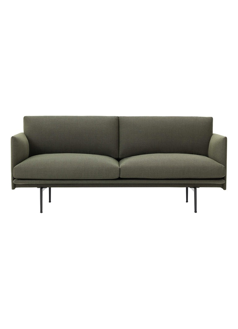 Muuto - Outline bank 2-zits - Groen