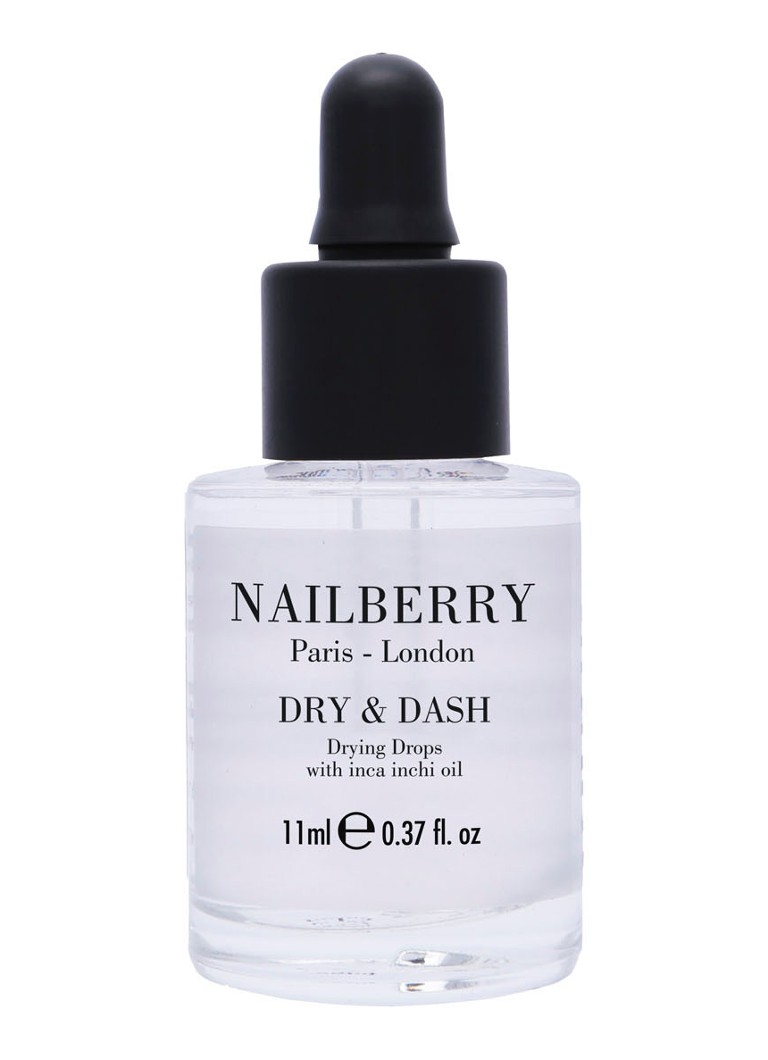 Nailberry - Dry and Dash with Inca Inchi Oil - verzorgende & sneldrogende nagelolie - null
