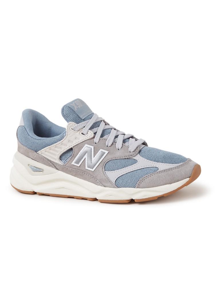 ba7061b8e964cf New Balance X90 Reconstructed sneaker met suède details • de Bijenkorf