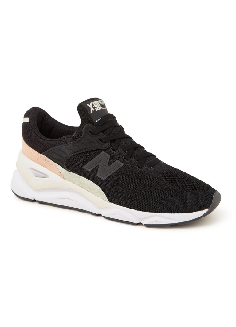 6c3cb4bb86a697 New Balance X90 sneaker met mesh • de Bijenkorf