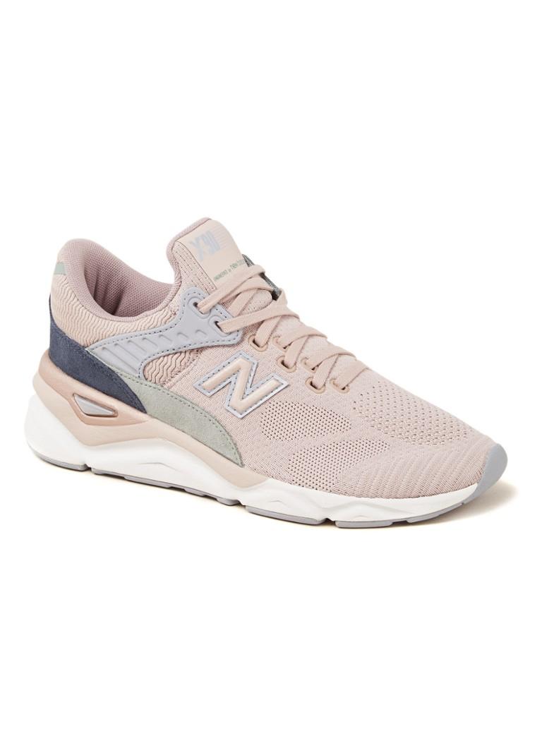 72261361410ea7 New Balance X90 sneaker met suède details • de Bijenkorf