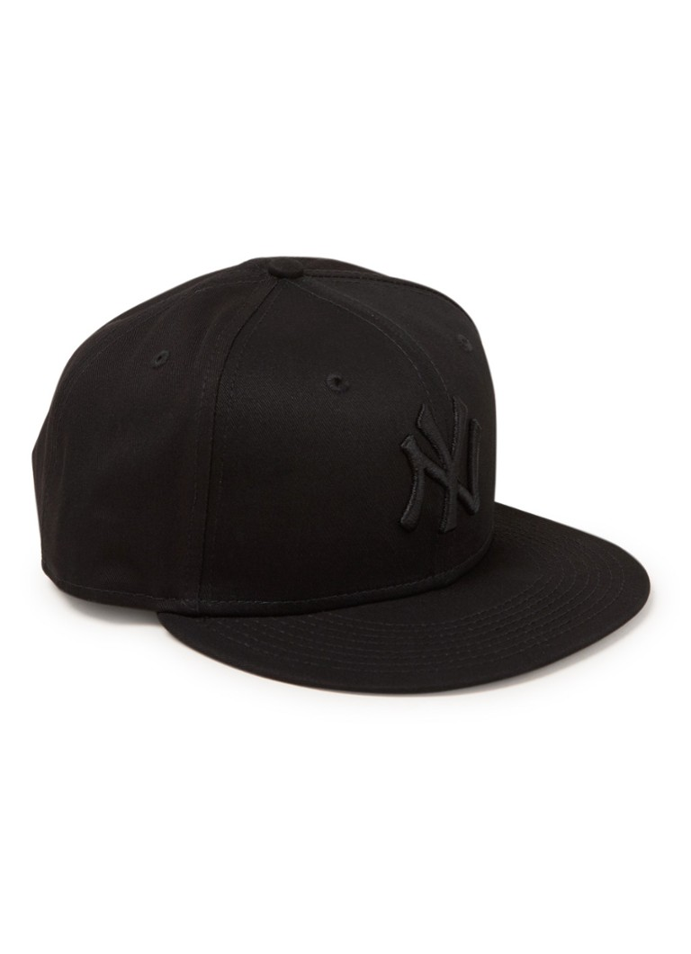 New Era - Pet met New York Yankees borduring - Zwart
