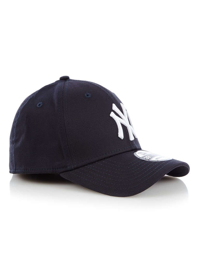 New Era - Pet met New York Yankees borduring - Donkerblauw