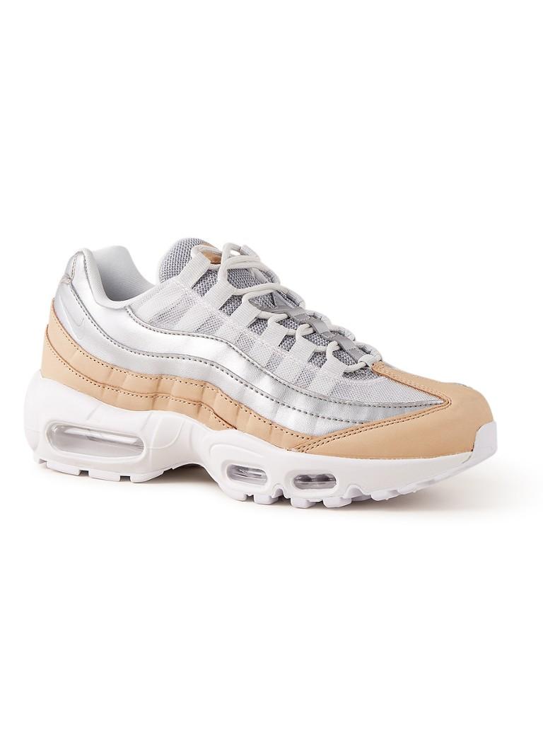 size 40 aa83a 58aad Nike Air Max 95 Premium sneaker met leren details • de Bijenkorf