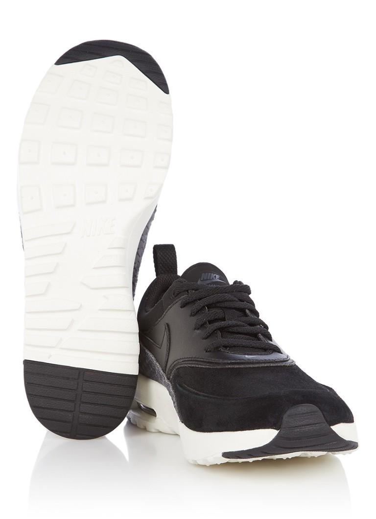 uk availability f2ec9 03fa1 Nike Air Max Thea PRM sneaker van suède en leer • de Bijenko