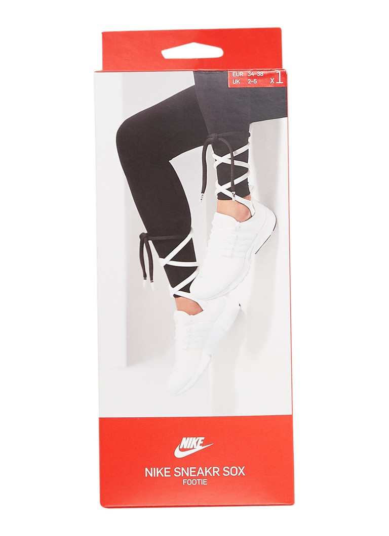 Nike - Lace-Up Knee-High sportsokken - Wit