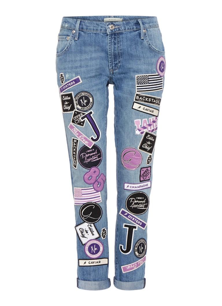 Nikkie Patch boyfriend jeans met applicaties u2022 de Bijenkorf