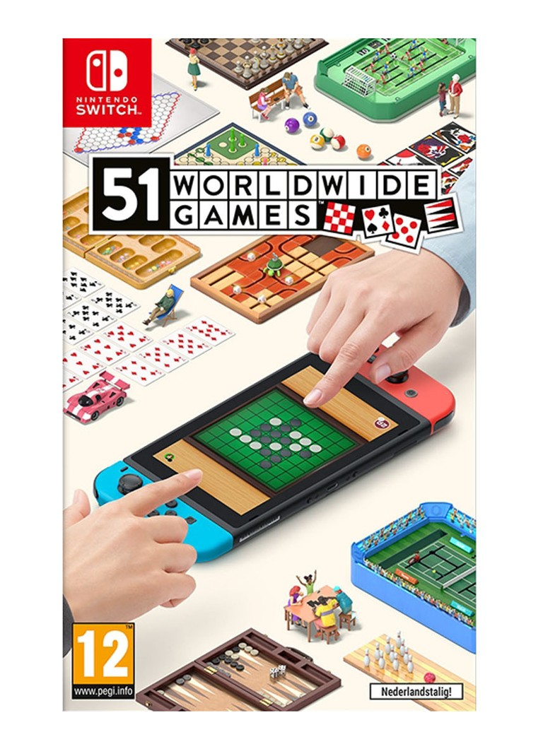 Nintendo - 51 Worldwide Games  - Nintendo Switch - null