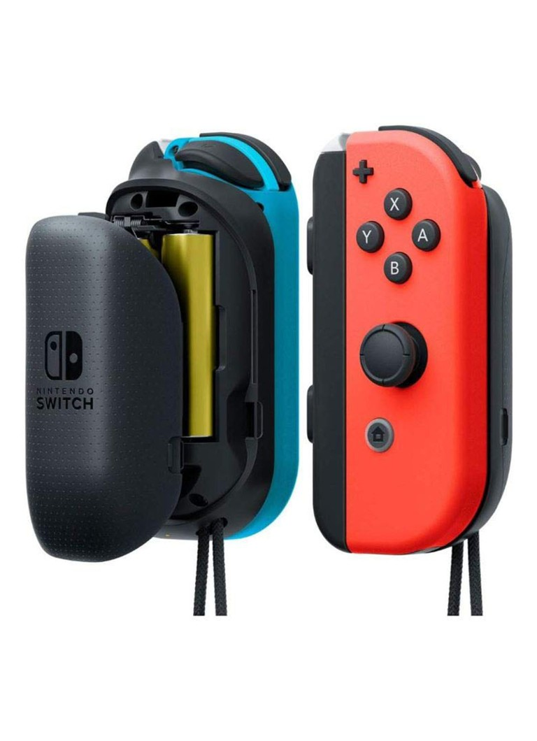 Nintendo - Joy-Con AA Battery Pack set van 2 -  Nintendo Switch - Zwart