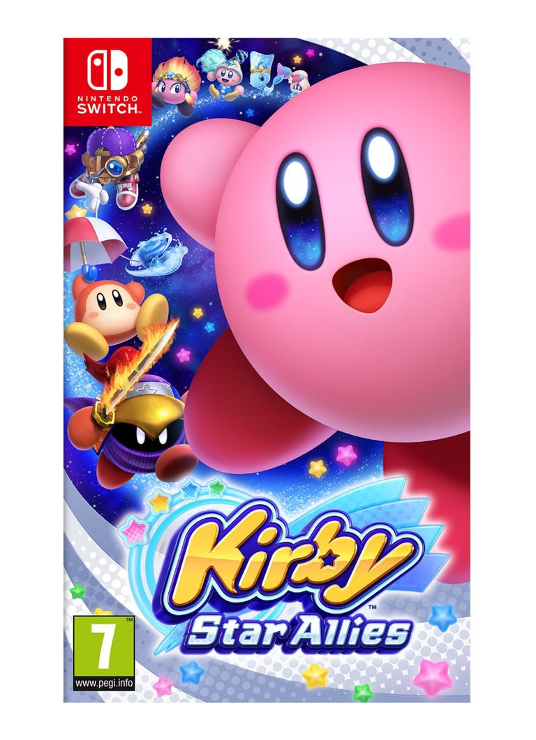 Nintendo - Kirby Star Allies game - Nintendo Switch - null