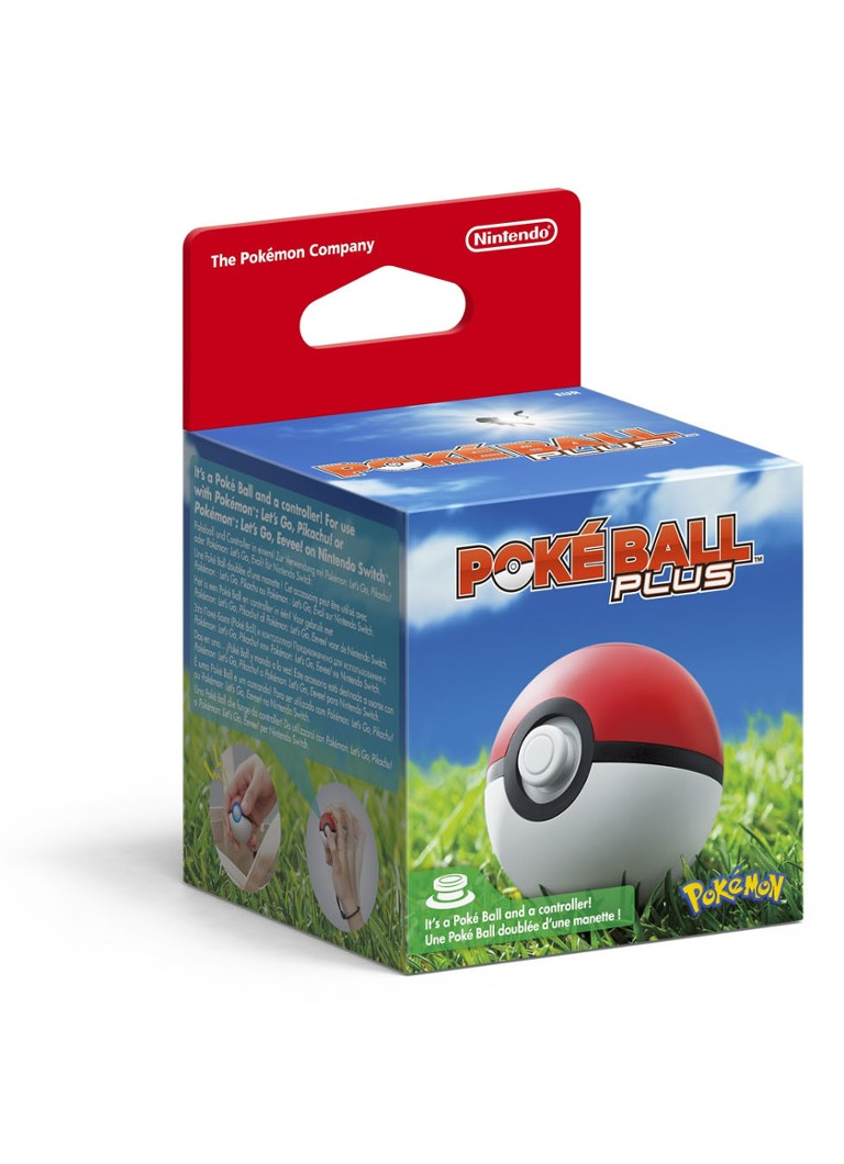 Nintendo - Poké Ball Plus - Nintendo Switch - Zwart