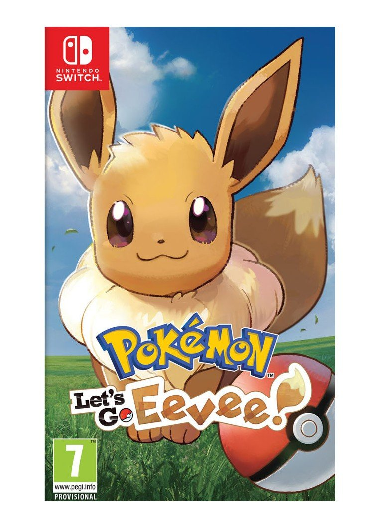 Nintendo - Pokémon Let's Go Eevee game - Nintendo Switch - null