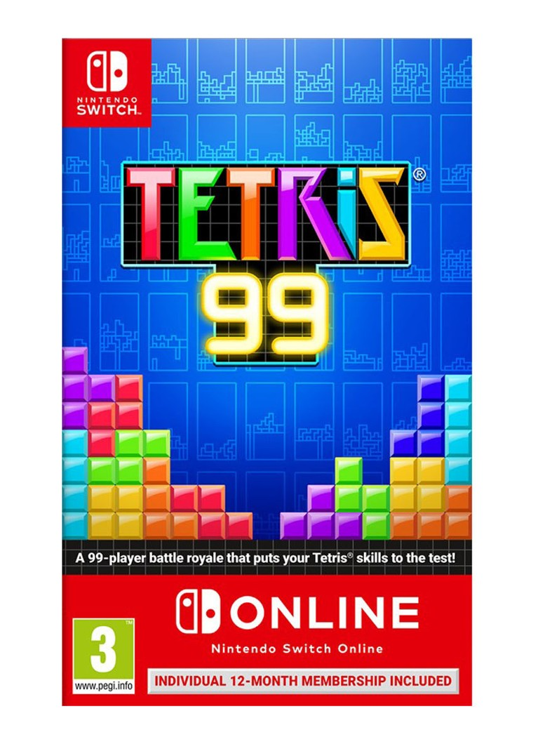 Nintendo - Tetris 99 game - Nintendo Switch - null