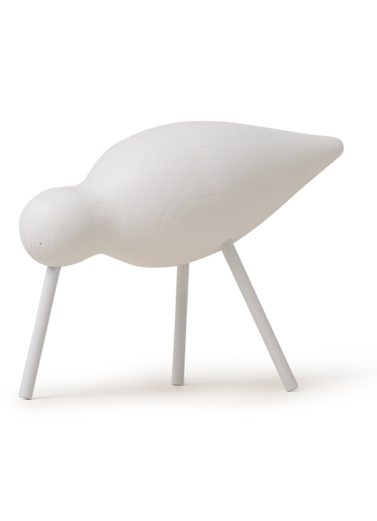 Normann Copenhagen - Shorebird 11 cm - Wit
