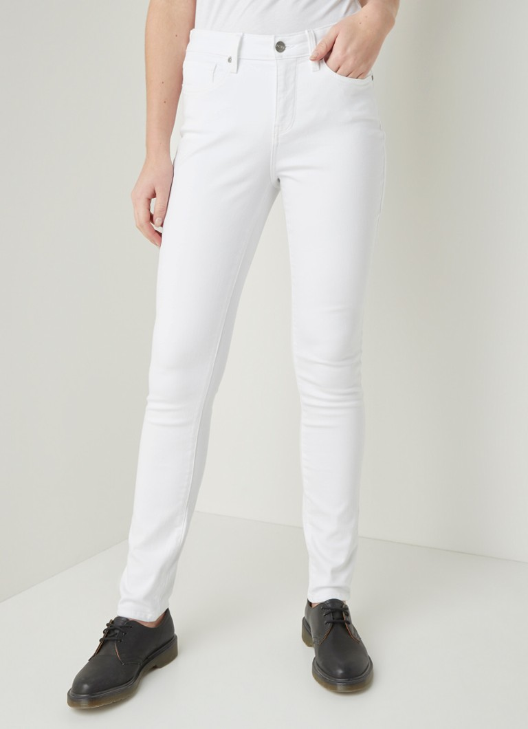 NYDJ - Alina high waist skinny fit jeans met stretch - Wit