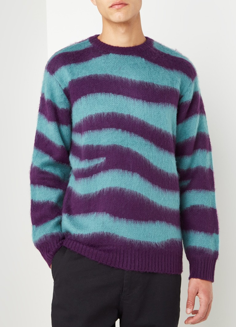 Obey - Dream pullover met streeppatroon - Multicolor