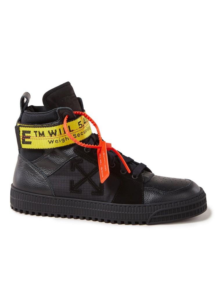 db4b5f7e5f177e Off-White Industrial Belt sneaker van leer • de Bijenkorf