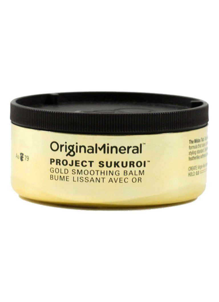 Original & Mineral - Project Sukuroi Gold Smoothing Balm - haarbalsem - null