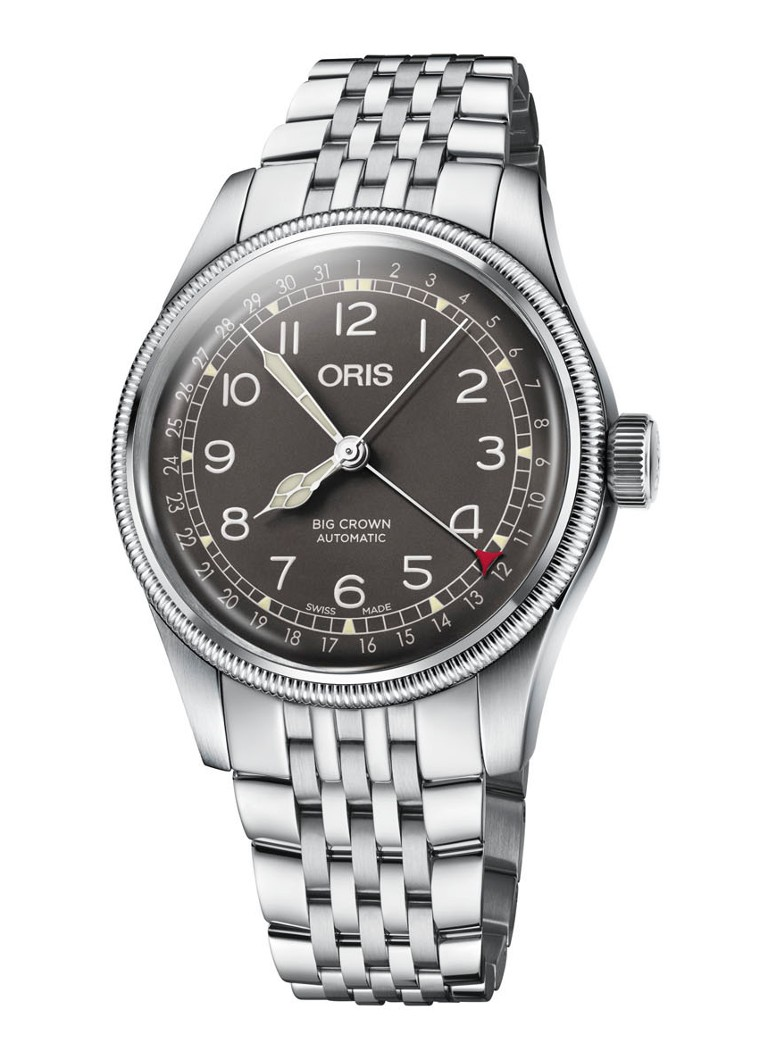 Oris - Big Crown Pointer Date horloge - Zilver