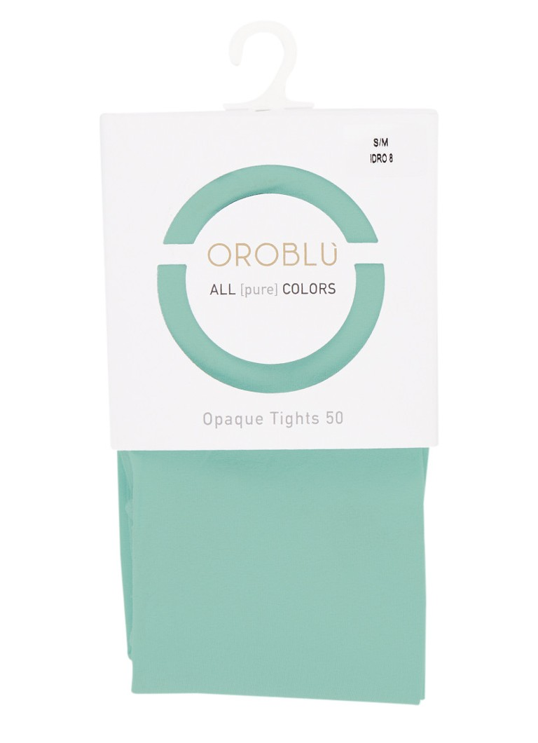 Oroblu - All Colors panty in 50 denier - Mint
