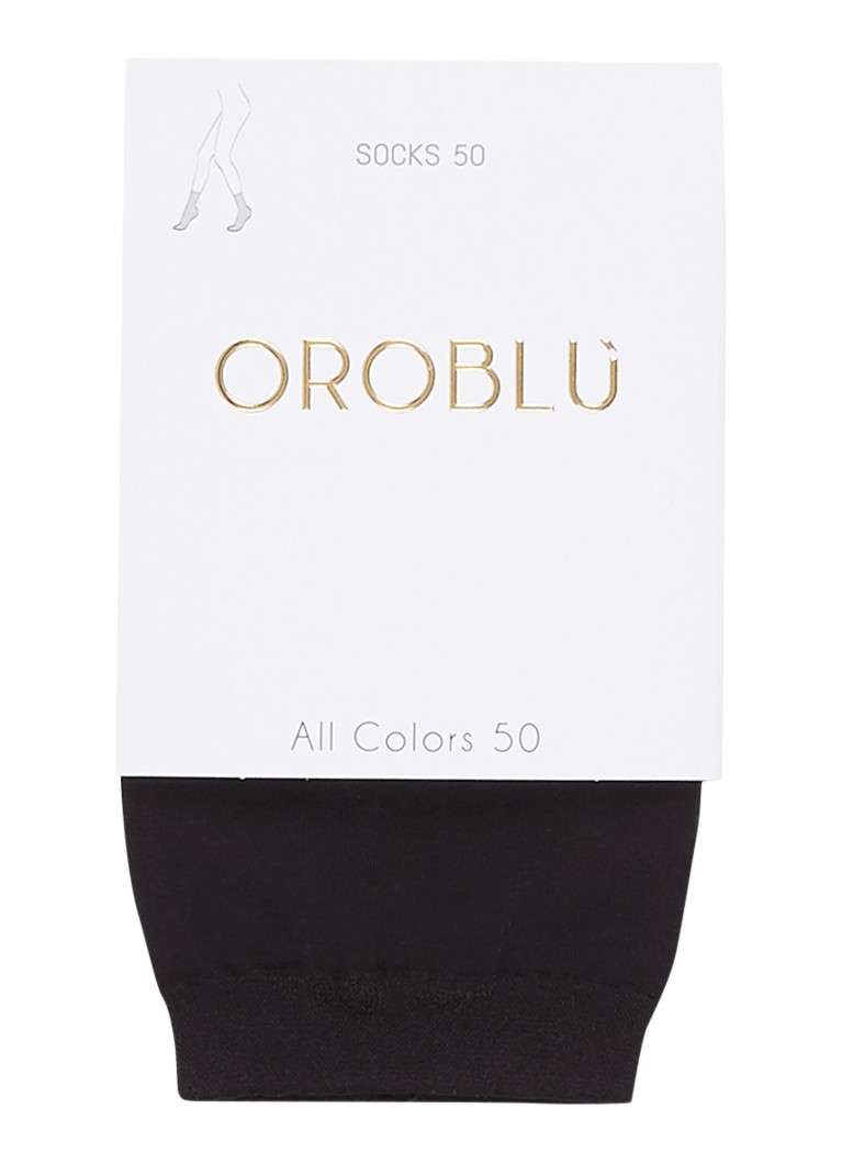Oroblu - All Colors pantysokken in 50 denier - Zwart