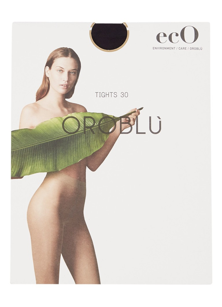 Oroblu - Eco panty in 30 denier - Zwart