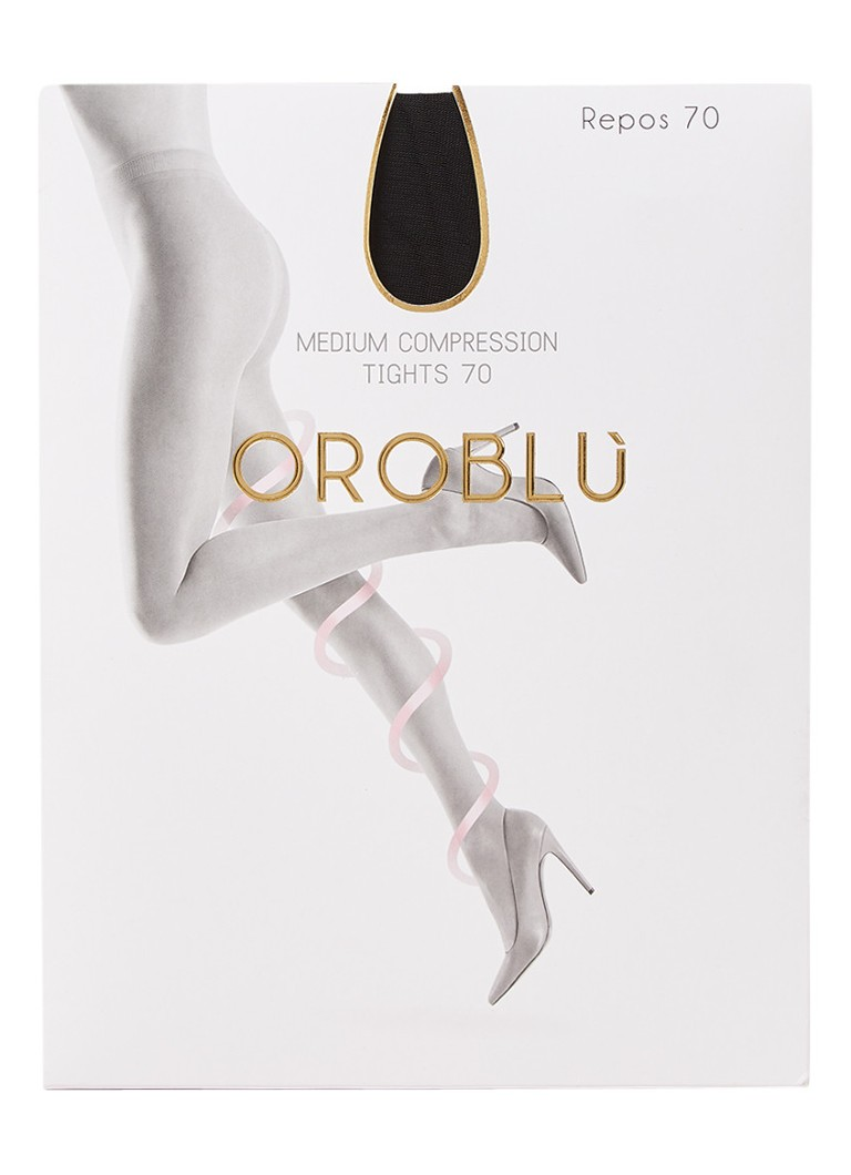 Oroblu - Repos panty in 70 denier black - Zwart