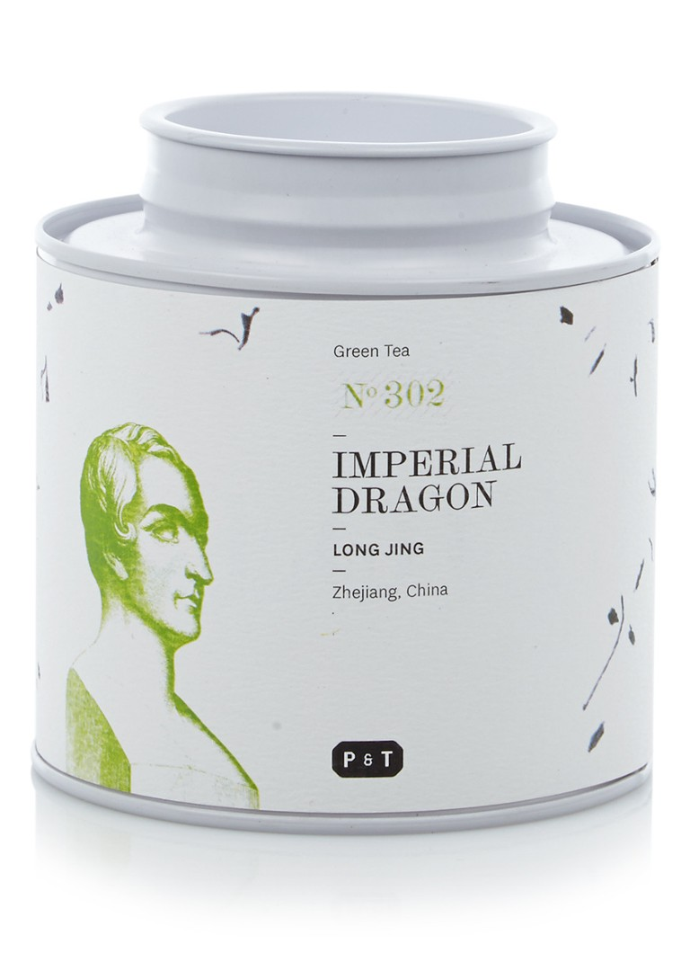 P & T - No. 302 Imperial Dragon losse groene thee 80 gram -