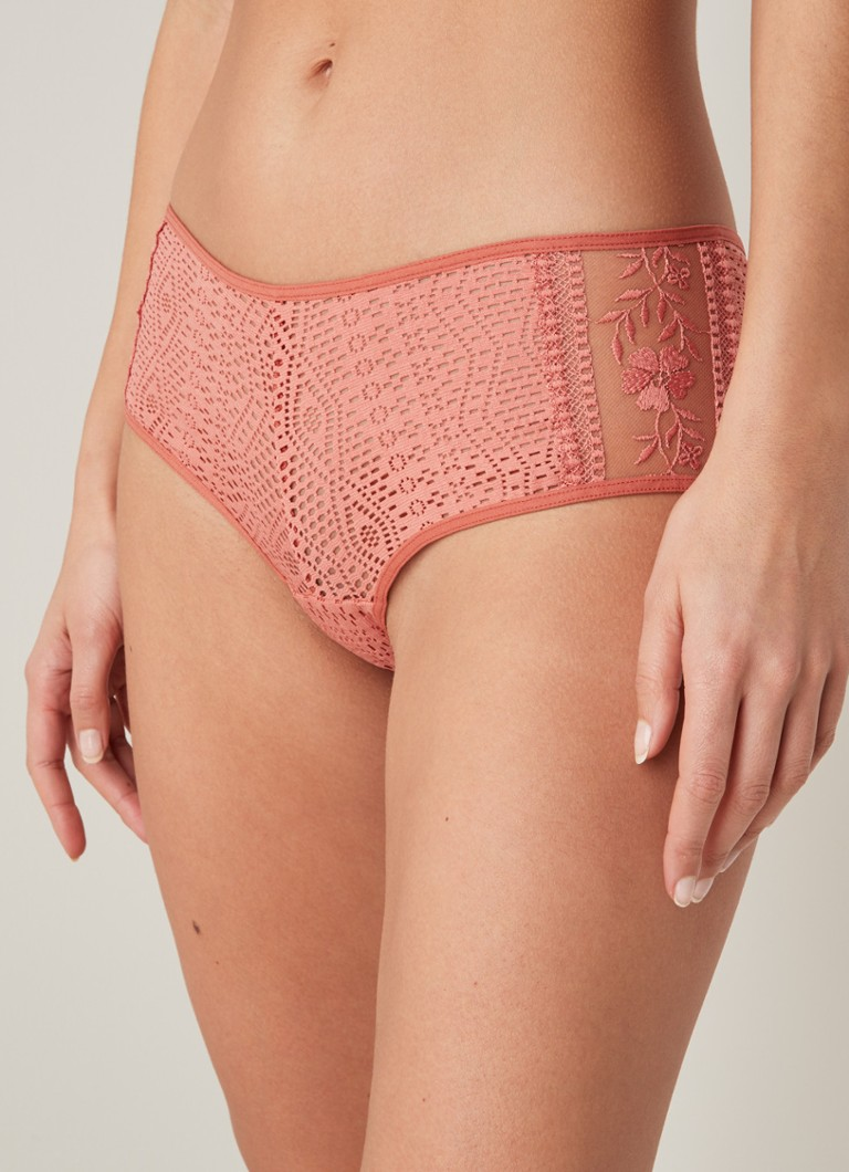 Passionata - Holala shorty met structuur - Oudroze