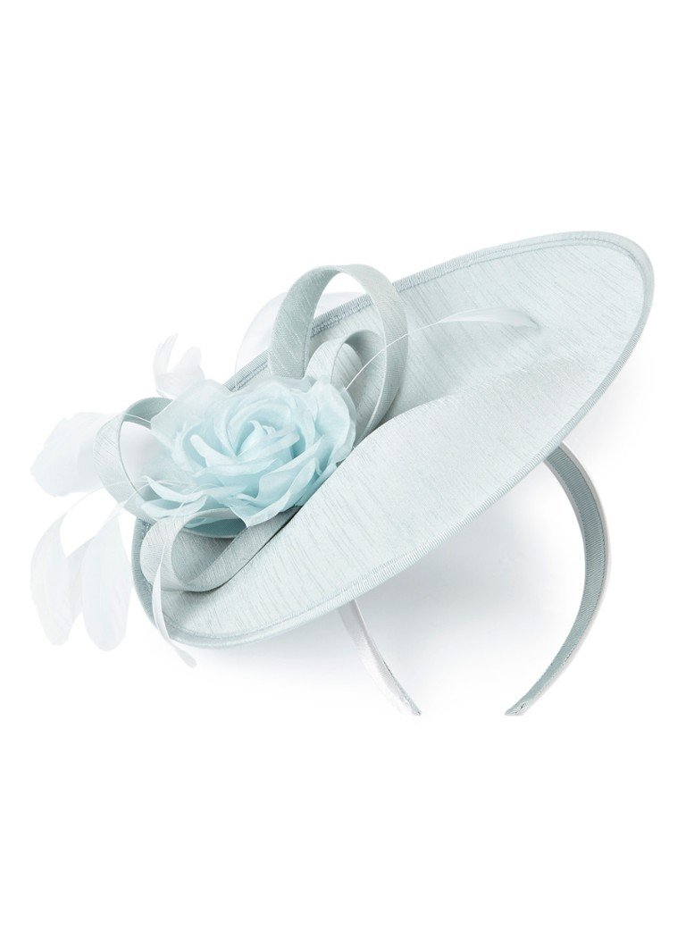 Phase Eight - Crisita Fascinator haarband met applicatie  - Turquoise