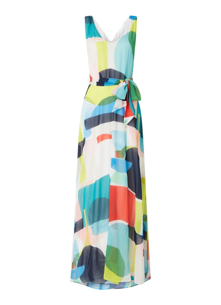 Phase Eight - Ida maxi jurk met grafische print - Multicolor