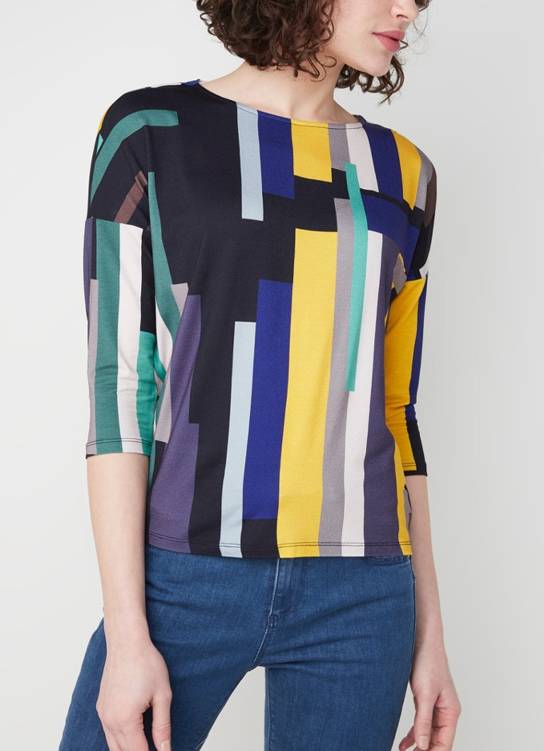 Phase Eight - Nanami longsleeve met print  - Multicolor