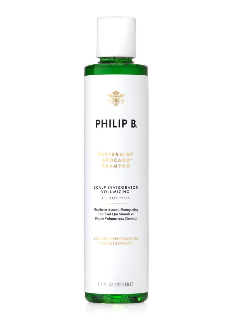 Philip B - Peppermint & Avocado Shampoo - mini - null