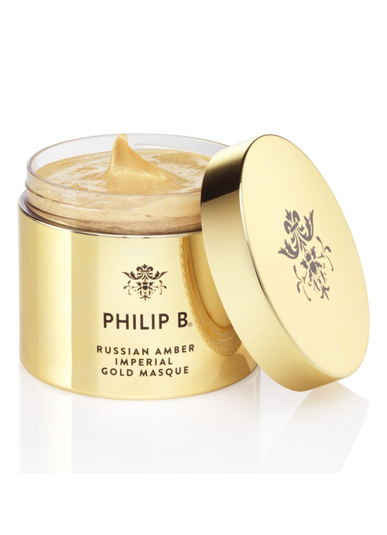 Philip B - Russian Amber Imperial Gold Masque - haarmasker - null