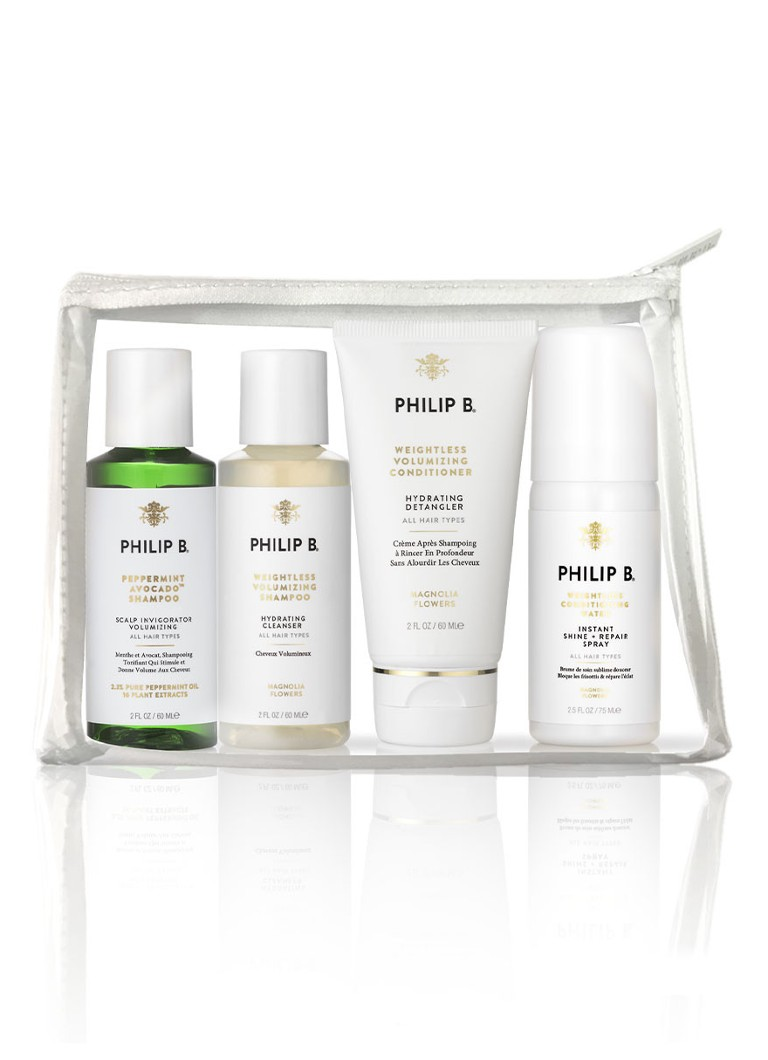 Philip B - Weightless Travel Collection - Limited Edition haarverzorgingsset -