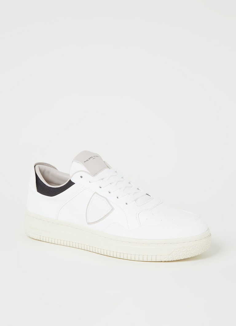 Philippe Model - Lyon sneaker van vegan leer - Wit
