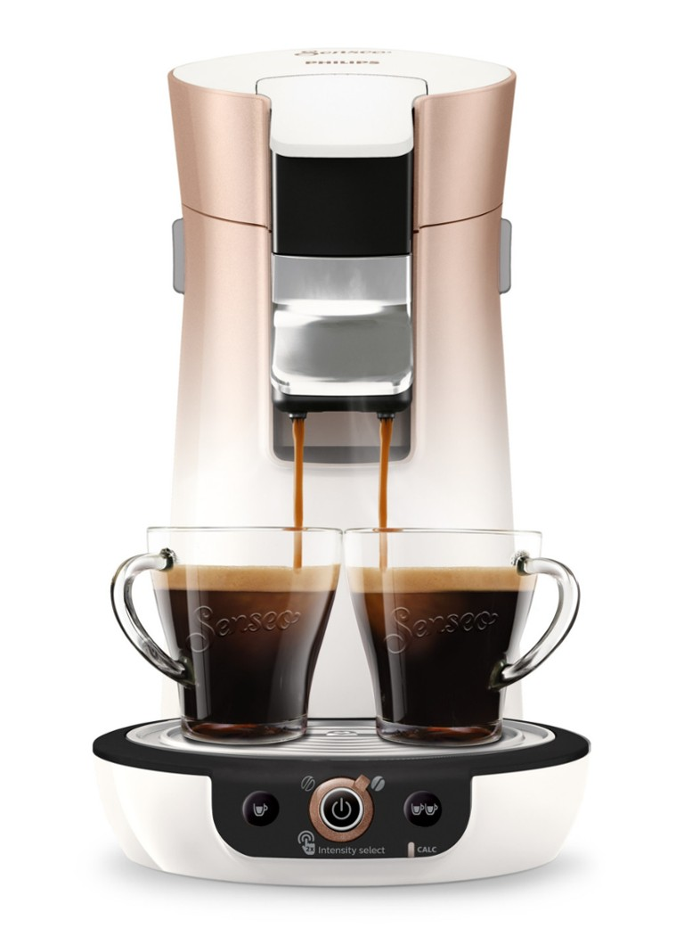 Philips - Viva Café Duo Select koffiezetapparaat HD6566 - Creme