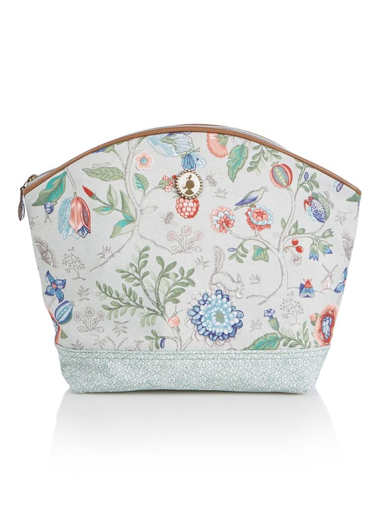 ef422e3724d Pip Studio Spring to Life make-up tas met bloemendessin • de Bijenkorf