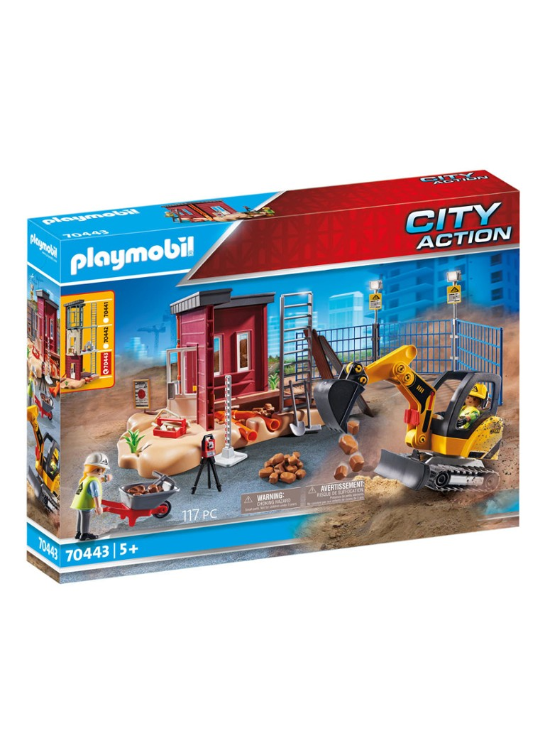 Playmobil - 70443 Mini graafmachine - null