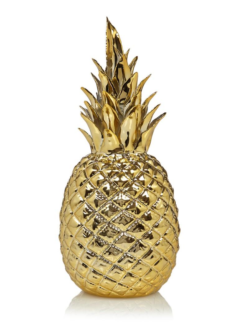 pols potten decoratieve ananas 30 cm de bijenkorf