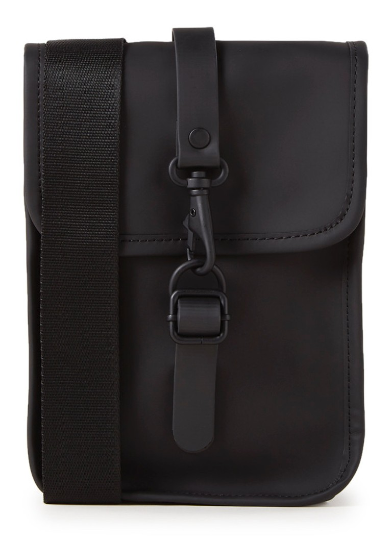Rains - Flight Bag crossbodytas - Zwart