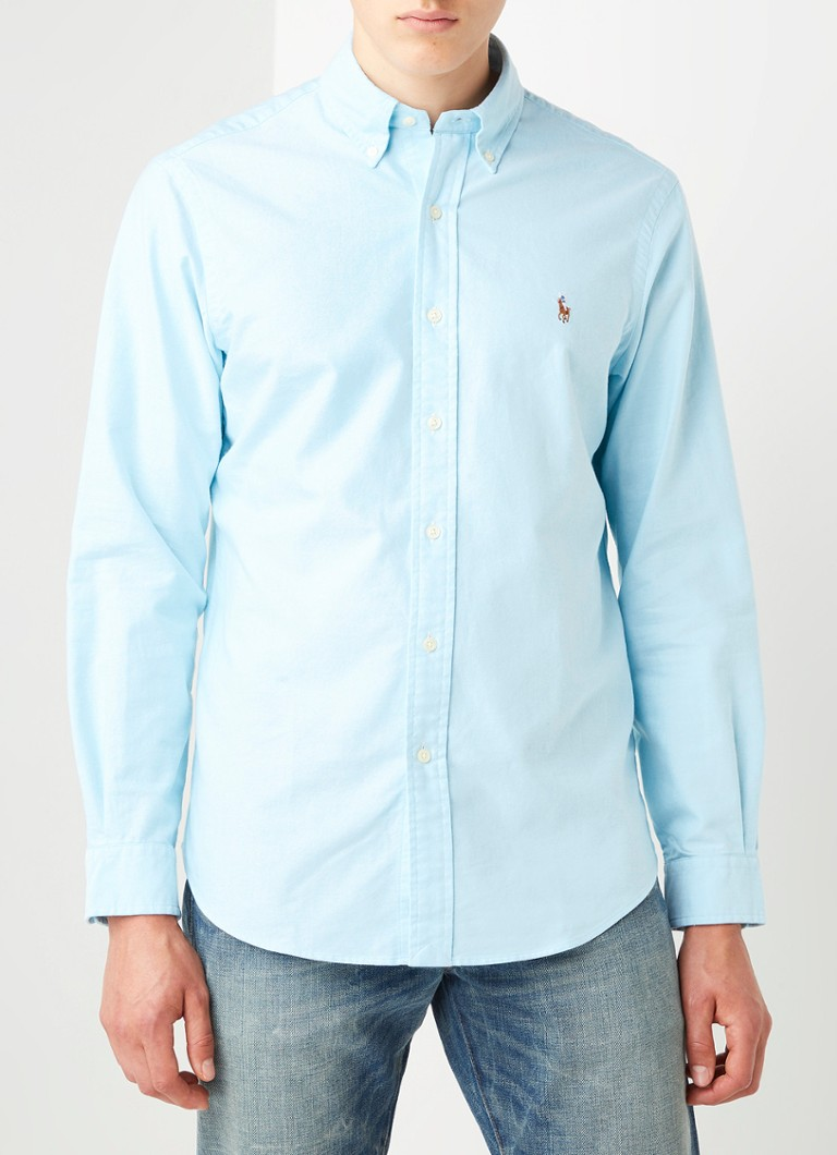 Ralph Lauren - Regular fit overhemd met button down kraag - Mint