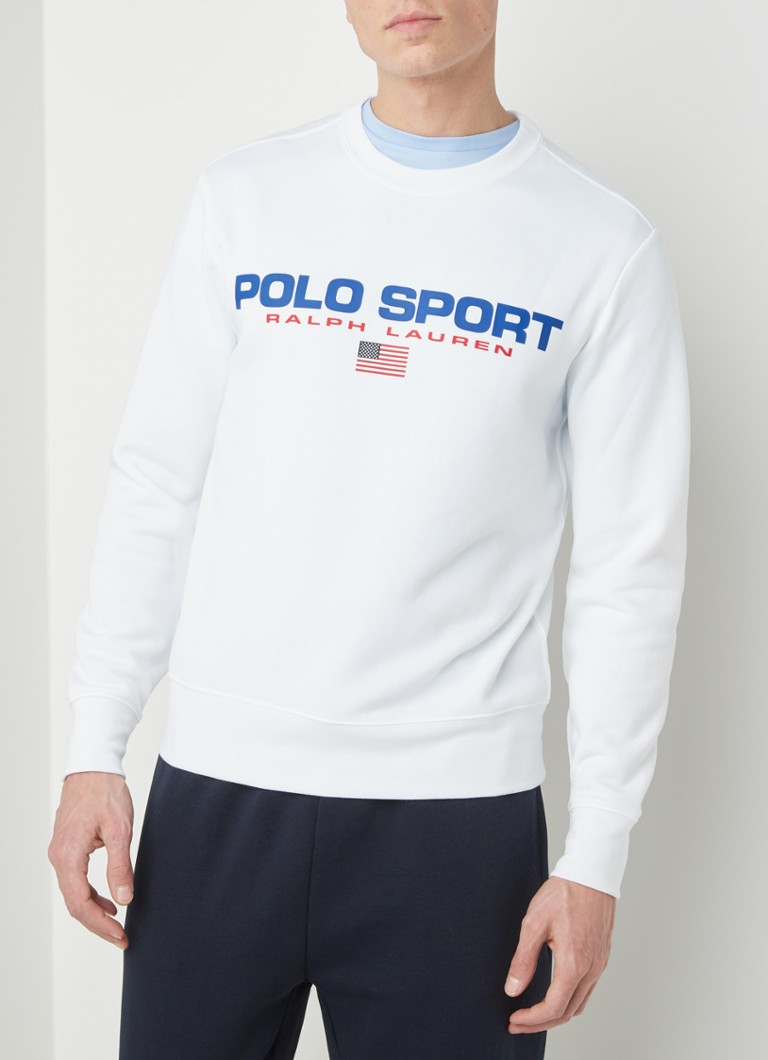 Ralph Lauren - Sweater met logoprint - Wit