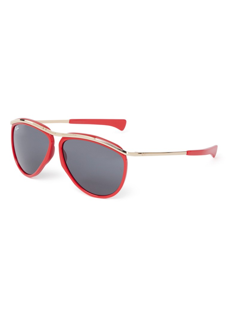 Ray-Ban - Olympian zonnebril RB2219 - Rood