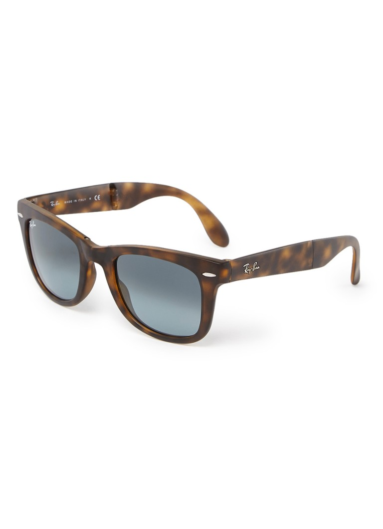 Ray-Ban - Opvouwbare zonnebril RB4105 - Donkerbruin